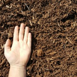 Brown Mulch Hand